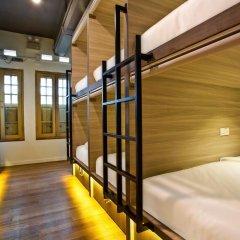 Capsule Pod Boutique Hostel Кровать в общем номере фото 5