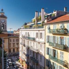 Отель Lascaris - 1 Chambre - Le Port Франция, Ницца - отзывы, цены и фото номеров - забронировать отель Lascaris - 1 Chambre - Le Port онлайн балкон