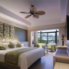 Отель Shangri-Las Rasa Sentosa Resort & Spa 5* Улучшенный номер с двуспальной кроватью фото 3