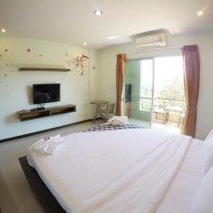 Отель Benjamas Place Номер Делюкс с различными типами кроватей фото 9