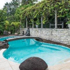 Отель Chalet de tahiti Французская Полинезия, Пунаауиа - отзывы, цены и фото номеров - забронировать отель Chalet de tahiti онлайн бассейн фото 3