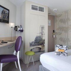 Отель Mercure Paris Notre Dame Saint Germain Des Pres 4* Стандартный номер с различными типами кроватей фото 6