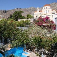 Отель Villa Melina Греция, Калимнос - отзывы, цены и фото номеров - забронировать отель Villa Melina онлайн балкон