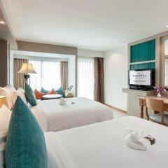 Отель Novotel Phuket Resort 4* Номер Делюкс с 2 отдельными кроватями фото 8