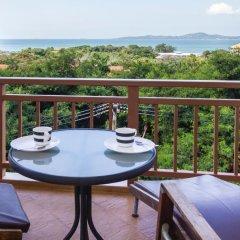 Апартаменты Emerald Palace - Serviced Apartment Паттайя балкон