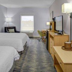 Отель Hampton Inn Suites Sarasota/Bradenton Airport 2* Студия с различными типами кроватей фото 3