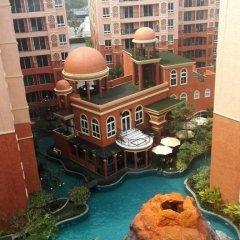 Отель Lovely Condo Паттайя приотельная территория