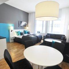 Sky Hotel Apartments, Stockholm 3* Стандартный номер с различными типами кроватей фото 6