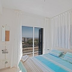 Отель Narcissos Bay View Villa Кипр, Протарас - отзывы, цены и фото номеров - забронировать отель Narcissos Bay View Villa онлайн комната для гостей фото 4