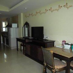 Отель Villa Thongbura 3* Студия с различными типами кроватей фото 13