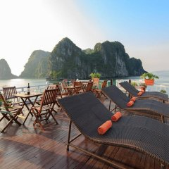 Отель Halong Golden Bay Cruise пляж