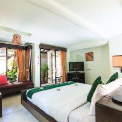 Отель Punnpreeda Beach Resort 3* Номер Делюкс с различными типами кроватей фото 6