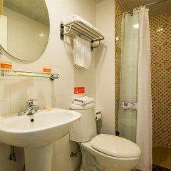 Отель Home Inn Hangzhou Hefang Street Railway Station Metro Station Китай, Ханчжоу - отзывы, цены и фото номеров - забронировать отель Home Inn Hangzhou Hefang Street Railway Station Metro Station онлайн ванная