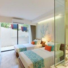 Отель Bandara Phuket Beach Resort 4* Улучшенный номер с двуспальной кроватью фото 9