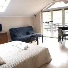 Отель Hevelius Residence Номер Делюкс с различными типами кроватей фото 8