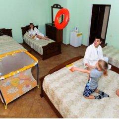 Гостиница Пансионат Undersun ДельКон 2* Стандартный семейный номер с двуспальной кроватью фото 5