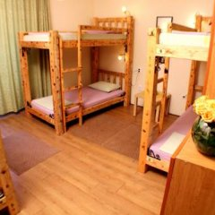 Hostel and Apartments Skadarlija Sunrise Кровать в общем номере с двухъярусной кроватью фото 15