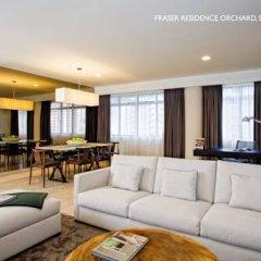 Отель Fraser Residence Orchard Апартаменты с 2 отдельными кроватями фото 5