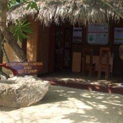 Отель Kirinda Beach Resort 2* Шале с различными типами кроватей фото 9