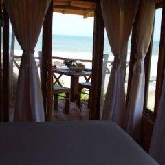 Отель Kirinda Beach Resort 2* Шале с различными типами кроватей фото 4