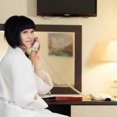 Гостиница AMAKS Центральная Номер Бизнес разные типы кроватей фото 13