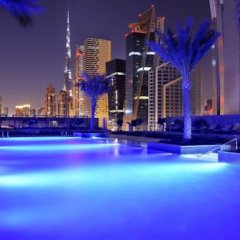 Отель JW Marriott Marquis Dubai 5* Номер Делюкс с различными типами кроватей фото 9