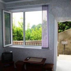 Гостевой дом Простор Стандартный номер с 2 отдельными кроватями фото 12
