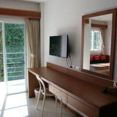 Отель Rojjana Residence 2* Стандартный номер двуспальная кровать фото 13