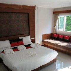 Отель Rojjana Residence 2* Стандартный номер двуспальная кровать фото 15