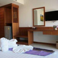 Отель Rojjana Residence 2* Стандартный номер двуспальная кровать фото 11