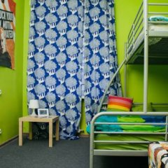 Хостел Достоевский Кровати в общем номере с двухъярусными кроватями фото 47