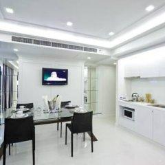 Отель Rocco Huahin Condominium Люкс с различными типами кроватей фото 29