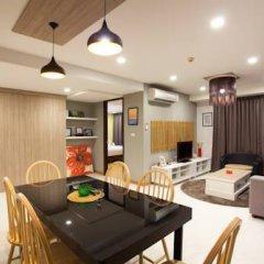 Отель Rocco Huahin Condominium Апартаменты с 2 отдельными кроватями фото 37