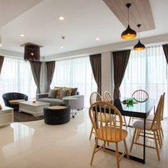 Отель Rocco Huahin Condominium Апартаменты с 2 отдельными кроватями