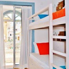 Ale-Hop Albufeira Hostel Кровать в общем номере с двухъярусной кроватью