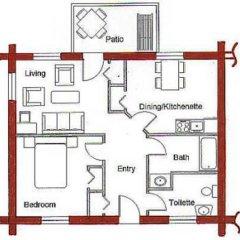 Отель Terracana Ranch Resort 2* Коттедж с различными типами кроватей фото 2