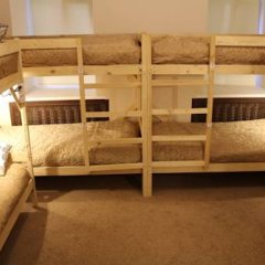 Гостиница Amigo Tzvetnoi Bulvar Кровать в общем номере с двухъярусной кроватью фото 43