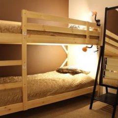 Гостиница Amigo Tzvetnoi Bulvar Кровать в общем номере с двухъярусной кроватью фото 37