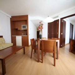 Отель Marins Cala Nau 4* Апартаменты с различными типами кроватей