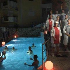 Hotel Olympia Саранда бассейн