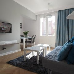 Отель Grand -Tourist Marine Apartments Польша, Гданьск - отзывы, цены и фото номеров - забронировать отель Grand -Tourist Marine Apartments онлайн комната для гостей фото 5
