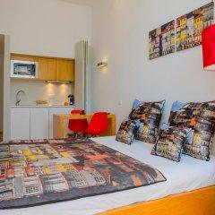 Апартаменты Charm Apartments Porto Студия разные типы кроватей фото 17