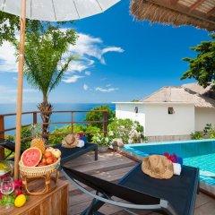 Отель Cape Shark Pool Villas 4* Студия с различными типами кроватей фото 6