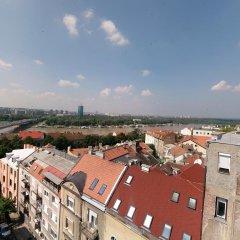 Отель Studio Lara Сербия, Белград - отзывы, цены и фото номеров - забронировать отель Studio Lara онлайн балкон