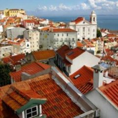 Отель Alfama - Santa Luzia - Fado Museum Португалия, Лиссабон - отзывы, цены и фото номеров - забронировать отель Alfama - Santa Luzia - Fado Museum онлайн балкон