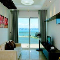 Отель Condotel Ha Long Апартаменты с различными типами кроватей фото 21