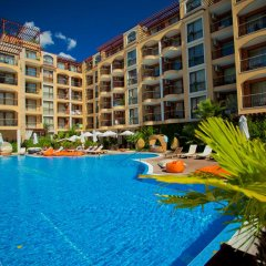 Отель Apartcomplex Harmony Suites Болгария, Солнечный берег - отзывы, цены и фото номеров - забронировать отель Apartcomplex Harmony Suites онлайн бассейн фото 2