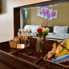 Hanoi Bella Rosa Suite Hotel 3* Номер Делюкс с различными типами кроватей фото 7