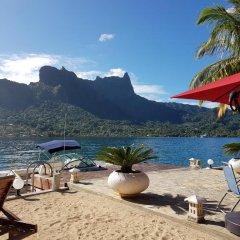 Отель Villa Oramarama by Tahiti Homes Французская Полинезия, Папеэте - отзывы, цены и фото номеров - забронировать отель Villa Oramarama by Tahiti Homes онлайн пляж фото 2