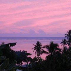 Отель Fare Arana Французская Полинезия, Муреа - отзывы, цены и фото номеров - забронировать отель Fare Arana онлайн пляж фото 2